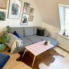 """KLINK DK on Instagram: """"Aflangt sofabord i lyserøde klinker. Dm for bestilling 🌸☺️"""" Interior Inspiration, Room Inspiration, Pastel Room, Tile Crafts, Piece A Vivre, Funky Furniture, Home Goods, Sweet Home, Room Decor"""