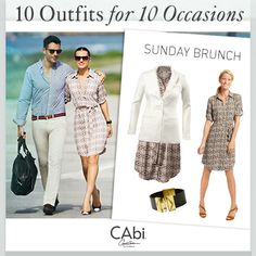 #CAbi - In today's blog: 10 outfits for 10 occasions – we've got you covered no matter what your plans are! #fashion #springoutfits