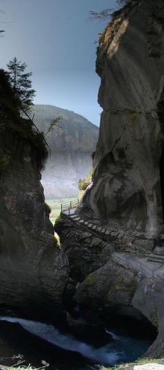Trummelbach Falls, Switzerland
