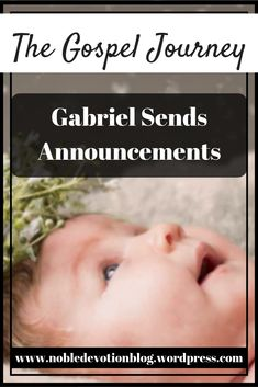 The book of Luke begins with how the coming births of John the Baptist and Jesus were announced by the angel, Gabriel. Work On Writing, Writing A Book, Post Quotes, Births, John The Baptist, Book Series, Gabriel, The Book, Announcement