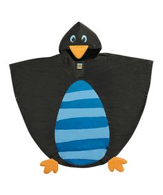 This Penguin Poncho - Kids by Stephen Joseph is perfect! #zulilyfinds