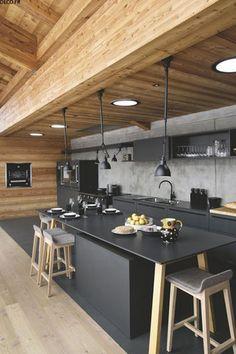 Dark Kitchens You'll Love | sheerluxe.com