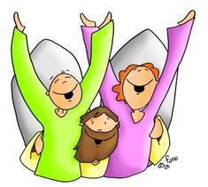 Donde haya dos reunidos en mi nombre, yo estaré en medio de ellos Religion Catolica, Christian Crafts, Kids Church, Corpus Christi, Bible Stories, My Lord, Pikachu, Faith, Album
