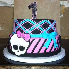 Punk Rock b-day cake