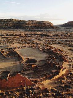 Pueblo Bonito. Chaco Canyon, New Mexico