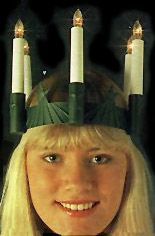 How to make a Lucia crown
