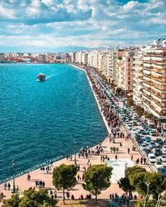 Macedonia Greece, Thessaloniki, Far Away, Athens, Countries, City Photo, Things To Do, Greek, Landscape