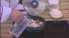 Sopa de Castanhas e Aipo - de Chefe António Alexandre do Chefs' Academy 2014