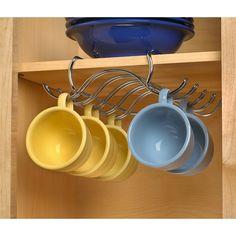 Under the Shelf Mug Hooks