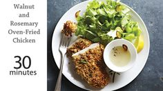 Walnut and Rosemary Oven Fried Chicken | MyRecipes