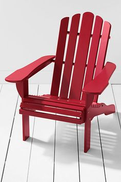 Wonder if I need to bring my own chair to the beach? (Adirondack Chair from Lands' End)