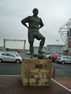 George Hardwick at The Riverside, home of Middlesbrough FC.