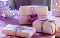 Geschenke verpacken – schöne und originelle Ideen