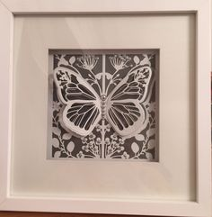 Mariposa reflections couture die by create and craft. - box frame