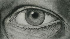 Pencil sketching.  Eye - The ultimate camera!
