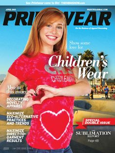 We are proud to be featured on the latest cover of Printwear Magazine! #Printwear #magazine #feature #tiedye #tiedyed #handtiedanddyed #dyedintheusa