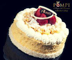 Torta #festadellamamma #cake #MothersDay #recipes pan di spagna, crema, panna cioccolato e fragole