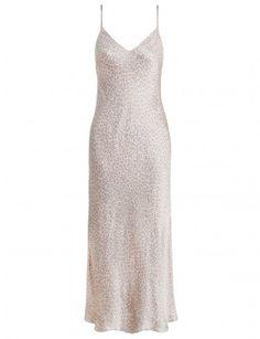 Valour Leopard Slip Dress