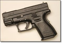 Springfield Armory XD-9 Subcompact. The one I own. Not pretty but very functional.