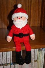 Santa Shelf Doll pattern by Jean Woods