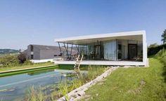Fachada com Paredes de Vidro da Casa M, na Áustria por Caramel Arquitetos-IMG001_r685