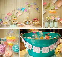 Sweet Butterfly Garden 1st Birthday Party