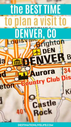 Planning a visit to Denver, but unsure when the best time to visit Denver is? Picking when to visit Denver will vary, depending on your interests. Click here to learn about weather, climate & activities by season so you can make an informed decision. Denver Weather in October l Denver Weather in March l Denver Weather in April l Denver Weather in September l Denver Weather l Denver Colorado Weather l Best Time to Go to Denver l Best Time to Travel to Denver #Denver #Colorado… Road Trip To Colorado, Denver Colorado, Denver Weather, Colorado Tourism, North America Destinations, Denver Travel, Visit Denver, National Park Tours, Denver City