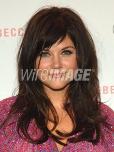 Tiffani Thiessen's bangs