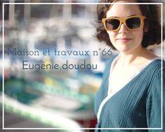 Blouse Eugénie de Atelier Scämmit - Double gaze verte Pretty mercerie