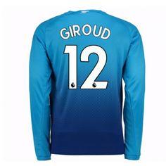 Arsenal Olivier Giroud 12 Auswärtstrikot 17-18 Langarm