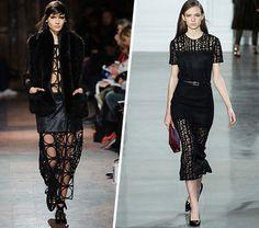 Fun Ways To Wear Lace - http://styleitrockit.com/fun-ways-to-wear-lace/
