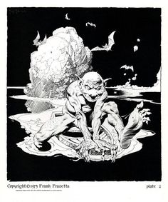 Frank Frazetta, from the Lord of the Rings portfolio