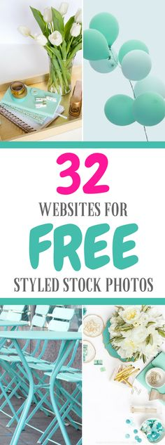 Free stock photos. 32 websites for free styled stock photos. #stockphotos #freephotos #blogger #blogphotography #bloggingtips #blogging