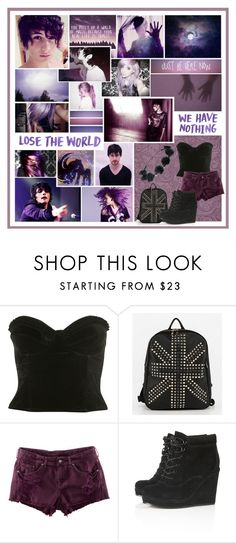 """""""And if you saaaaaaaaave my life, I'll be the ooonnnnnneee who drives you home tonight ♥"""" by holly-violet ❤ liked on Polyvore featuring ...Lost, H&M, Topshop and bedroom"""