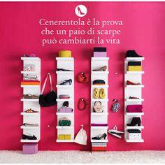 Wall sticker per fashion addicted. #cenerentola #scarpe