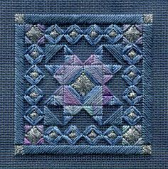Two-Handed Stitcher, Laura Perin charted needlepoint