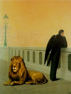 """Homesickness"" by Rene Magritte"
