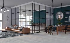 One Bedroom Studio on Behance Modern Scandinavian Interior, Interior Architecture, Interior Design, 3ds Max, One Bedroom, Behance, Studio, Furniture, Home Decor