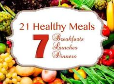 21 Healthy Food Plan Meals for Weight Loss   Homeschool Blog