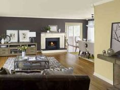 Paint Colors For Walls In Living Room. Couleur tendance 2015 2016 et design d int rieur  Living Room IdeasGrey RoomsLiving Paint A Years Worth of Style December s Tours Victorian townhouse