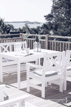 A una terraza con vistas hay que sacarle mayor partido con una puesta en escena.