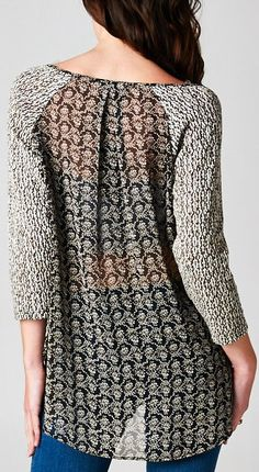 Knit Charlie Top