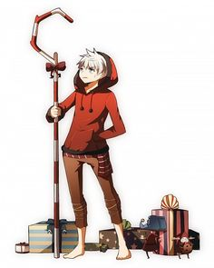 ROTG powerswitch!AU - Jack Frost as Santa Claus, the Guardian of Wonder