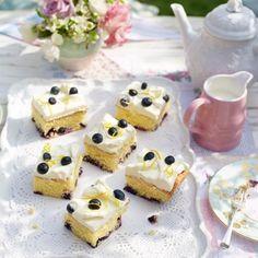 Lemon and Blueberry Polenta Cake | Good Housekeeping