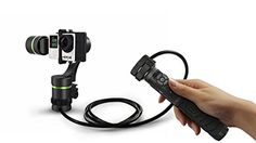 Lanparte LA3D Detachable 3-Axis Wired Control Handheld Gimbal for GoPro and Sports Cameras