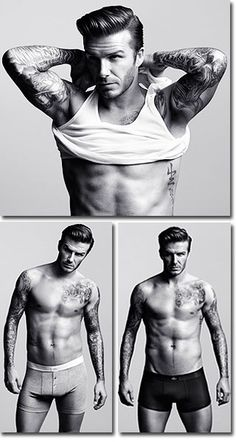 Mmmmmm, a little bit of Beckham :)