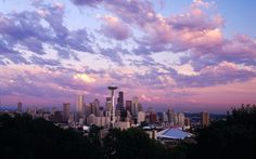 A beautiful city. The colors of Seattle and the beautiful gray Shaw carpet inspired the palette.