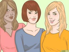 3 Ways to Determine Your Face Shape - wikiHow Oval Faces, Square Faces, Long Faces, Haircut For Face Shape, Face Shape Hairstyles, Face Shapes, Body Shapes, Jawline Men, Short Curly Hair