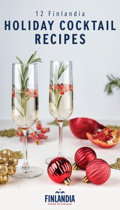 You're sure to have a holly jolly Christmas thanks to this collection of Finlandia holiday cocktail recipes. Finlandia Vodka acts as a festive complement to classic winter flavors like cranberry, cinnamon, and orange. Click here to find a delicious beverage for your next dinner party.