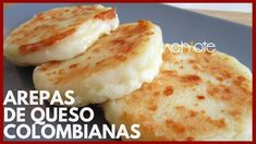 CÓMO HACER AREPAS DE QUESO COLOMBIANAS | Arepas Colombianas Exquisitas! - YouTube Empanadas Recipe, Colombian Arepas, Colombian Food, Venezuelan Food, Spanish Dishes, Comida Latina, Latin Food, Dessert For Dinner, Side Dishes